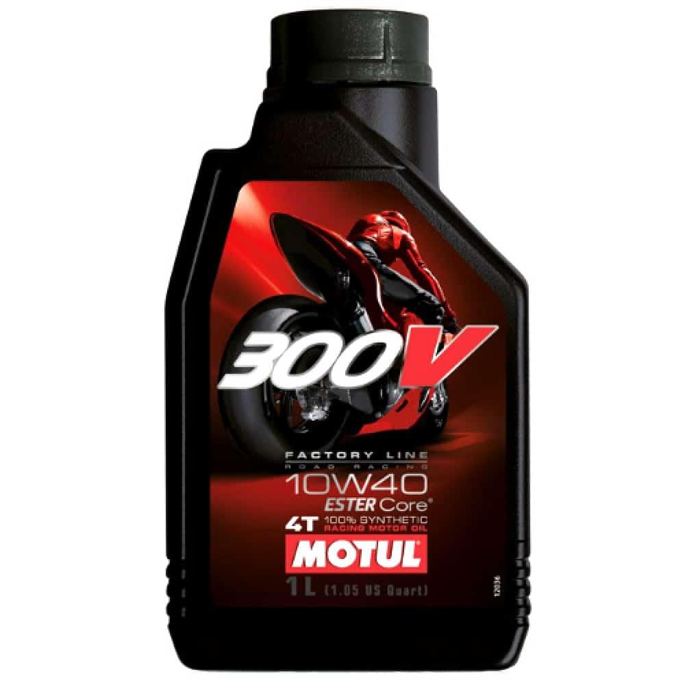 Масло MOTUL 300V Factory Line Road Racing 10W40 - 1 литър