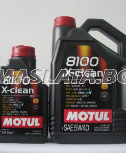 Масло MOTUL 8100 X-CESS 5W-40