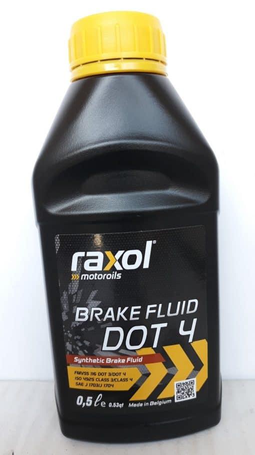 Спирачна течност RAXOL Brake Fluid DOT 4 – 0.5L