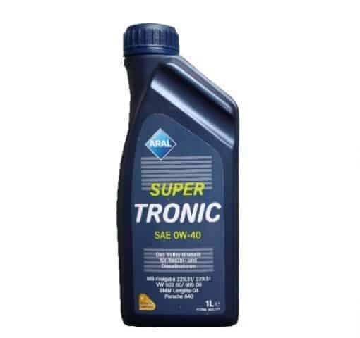 Масло Aral Super Tronic 0w40 - 1 литър