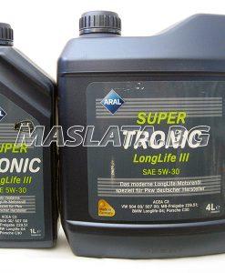 Масло Aral Super Tronic Longlife 3 5w30