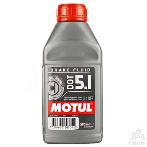 Спирачна течност MOTUL DOT 5.1 Brake Fluid - 0.5L