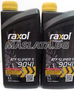 Масло RAXOL ATF SUPER S 9041