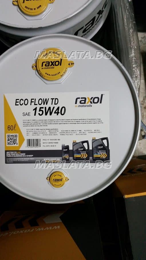 Масло RAXOL ECO TD 15W40