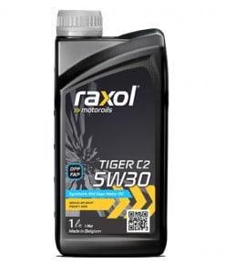 Масло RAXOL TIGER C2 5W30 - 1 литър