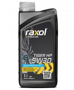 Масло RAXOL TIGER HP 5W30 229.52 за Mercedes - 1 литър