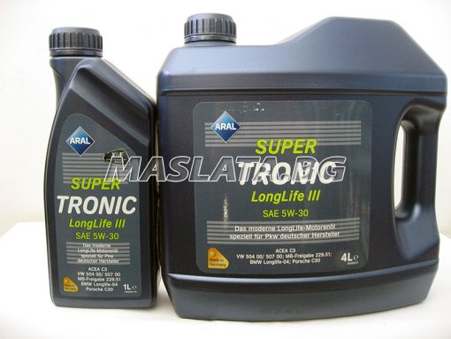 Масло Aral Super Tronic 5w30