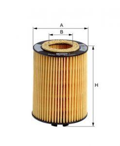 Маслен филтър HENGST E600H D38