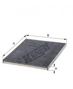 Купе филтър с активен въглен HENGST E903LC
