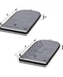 Купе филтър с активен въглен HENGST E983LC-2
