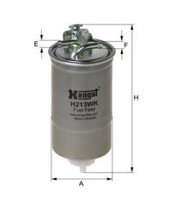 Горивен филтър HENGST H213WK
