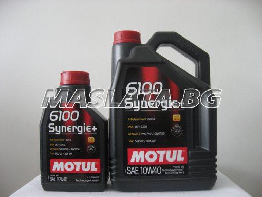 МАСЛО MOTUL 6100 Synergie 10W-40