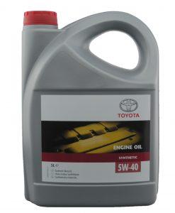 Оригинално масло Toyota 5W40 – 5 литра