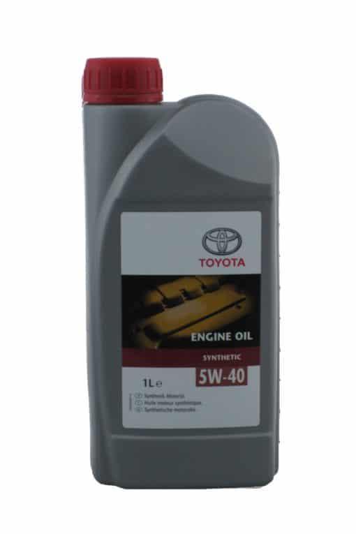 Оригинално масло Toyota 5W40 Synthetic - 1 литър