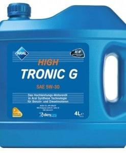 Масло Aral High Tronic G 5w30 - 4 литра
