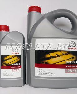 Оригинално масло Toyota 10W40 Semi-Synthetic - 1 литър