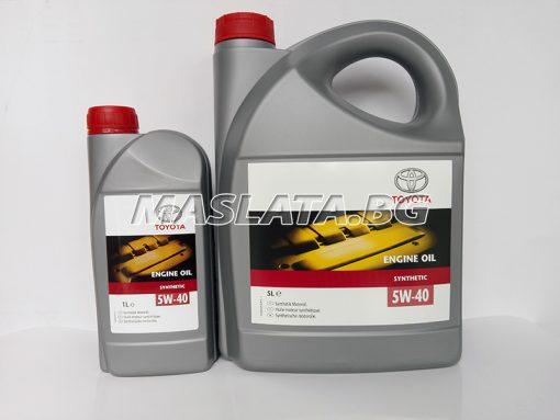 5w40 синтетично масло тойота