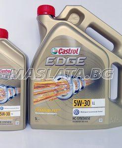 Mасло Castrol Edge LongLife 5W30