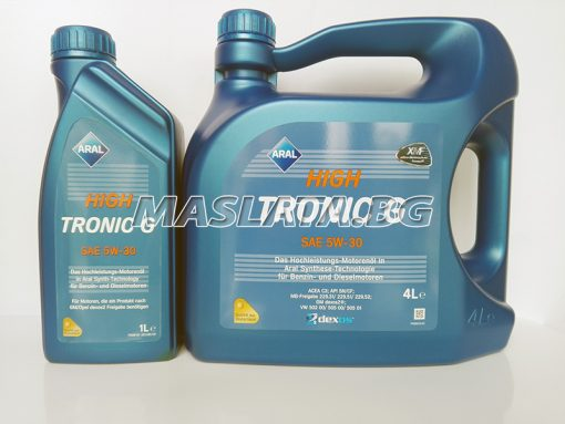 Масло Aral High Tronic G 5w-30