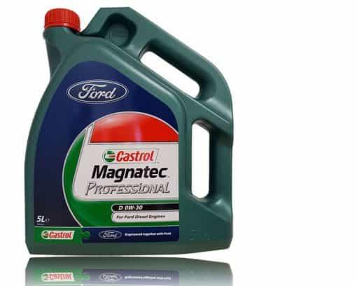 Масло Castrol MAGNATEC PROFESSIONAL D 0W30 за FORD - 5 литра