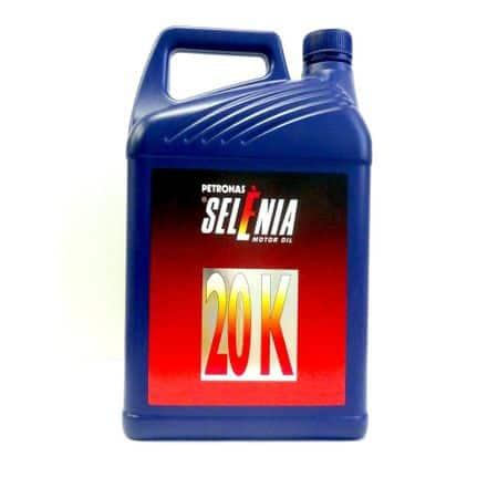 Масло SELENIA 20K 10W40 - 1 литър