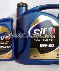 Масло ELF EVOLUTION FULL TECH 5W30