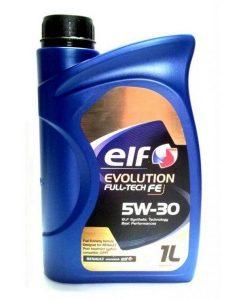 Двигателно масло ELF EVOLUTION FULL TECH 5W30 - 1 литър