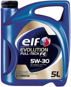 Масло ELF EVOLUTION FULL TECH 5W30 - 5 литра