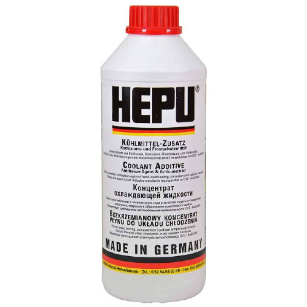 Антифриз HEPU червен концентрат – 80C 1.5 – литра