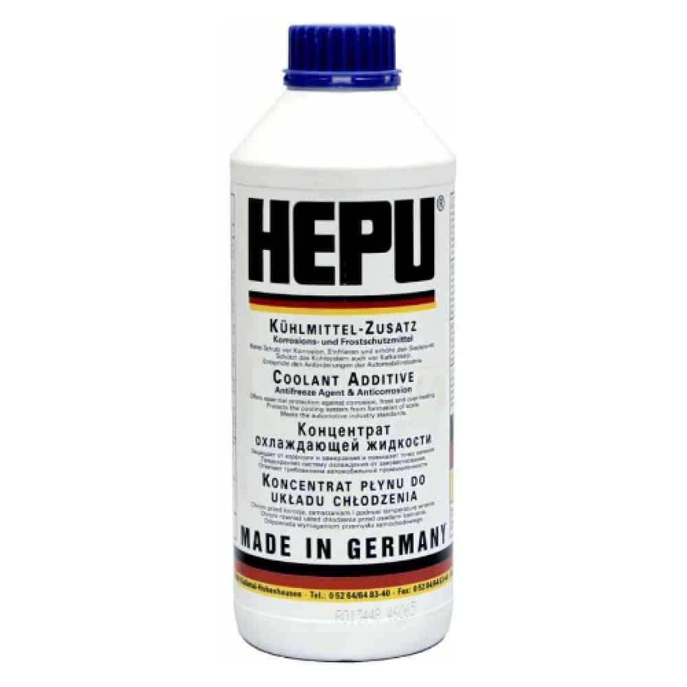 Aнтифриз HEPU син концентрат – 80C 1.5 – литра
