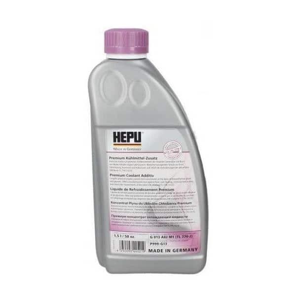 Антифриз HEPU G13 концентрат розов – 80C - 1.5 литра