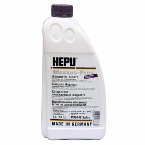 Антифриз HEPU G12 Plus - 1.5 литра