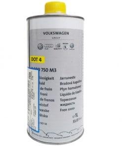 Оригинална спирачна течност DOT 4 Volksvagen Group - 1L