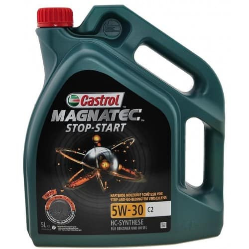 Масло Castrol Magnatec Stop Start 5W30 C2 - 5 литра