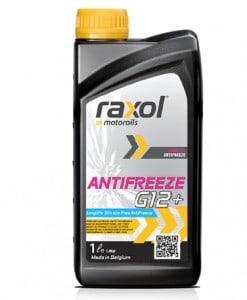 Антифриз RAXOL G12 Plus червен концентрат – 80C 1литър