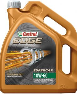 Масло CASTROL EDGE 10W60 SUPERCAR - 5 литра