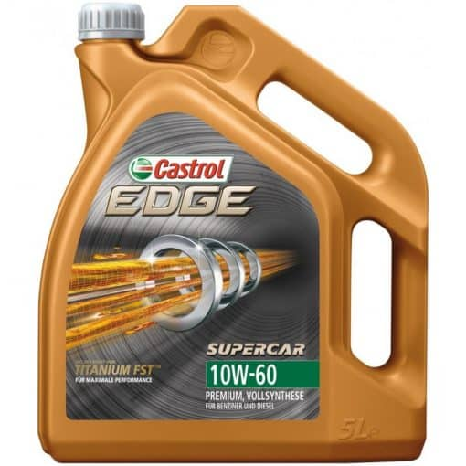 Масло CASTROL EDGE 10W60 SUPERCAR - 5 литра