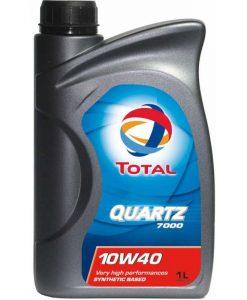 Масло TOTAL QUARTZ 7000 10W40 – 1 литър