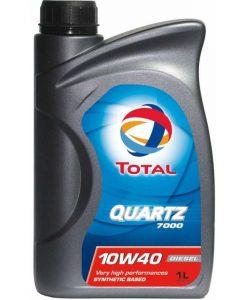 Масло за дизел TOTAL QUARTZ 7000 10W40 – 1 литър