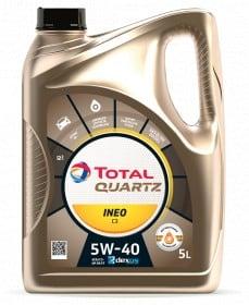 Масло TOTAL QUARTZ INEO C3 5W40 - 5 литра