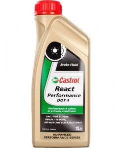 Спирачна течност CASTROL REACT PERFORMANCE DOT 4