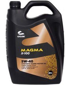 Двигателно масло CYCLON MAGMA X100 5W40 5L