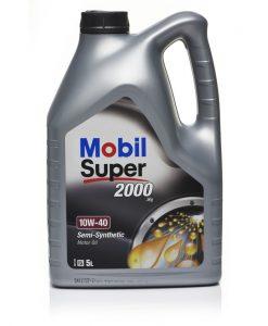 Двигателно масло MOBIL SUPER 2000 X1 10W40 5L