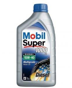 Двигателно масло MOBIL SUPER 1000 X1 Diesel 15W40 1L