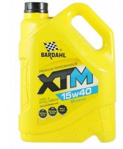Масло BARDAHL XTM 15W40 5L