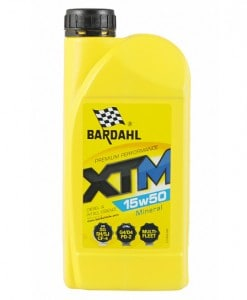 Масло BARDAHL XTM 15W50 1L