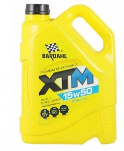 Масло BARDAHL XTM 15W50 5L