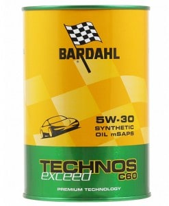 Масло BARDAHL TECHNOS C60 EXCEED 5W30 1L