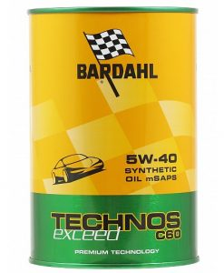 Масло BARDAHL TECHNOS C60 EXCEED 5W40 1L