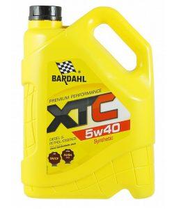 Масло BARDAHL XTC 5W40 5L